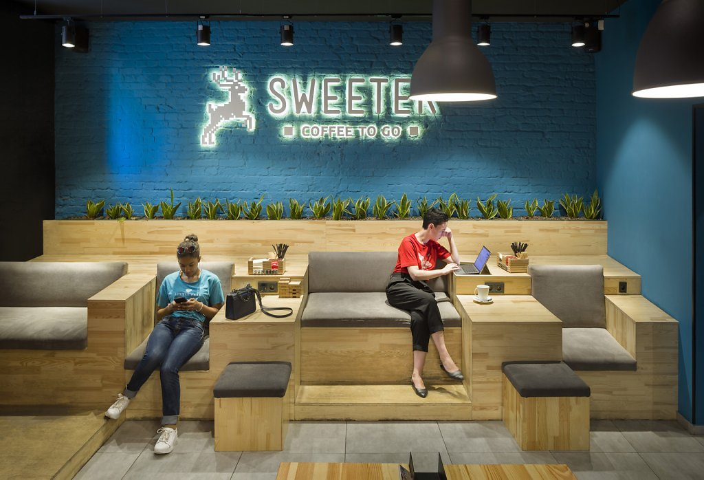 Sweeter coffee by Canape Agency