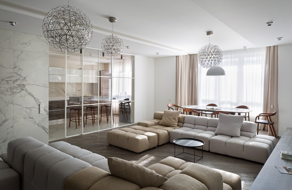 Private apartment by Sulyk Architects